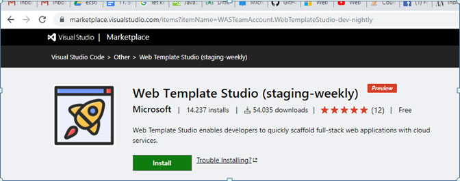 web template studio