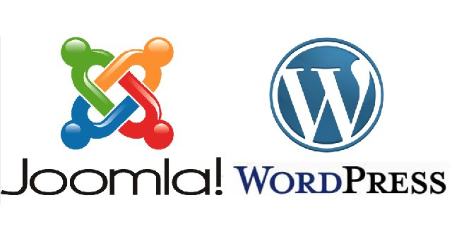 wordpress or joomla